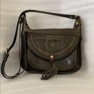 Patricia Nash Crossbody Italian leather vintage